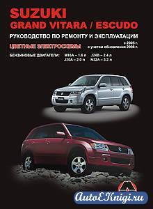 Suzuki Grand Vitara/Escudo с 2005 г. выпуска. Руководство по ремонту и эксплуатации