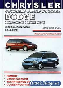 Chrysler Voyager / Grand Vouager, Dodge Caravan / Ram Van 2001-2007 гг. Руководство по эксплуатации, ремонту и техническому обслуживанию