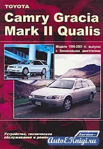Toyota Camry Gracia / Mark II Quails 1996-2001 годов выпуска. Устройство, техническое обслуживание и ремонт